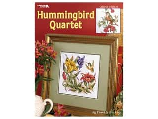 Leisure Arts Hummingbird Quartet Cross Stitch Book