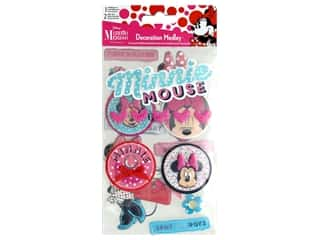 scrapbooking & paper crafts: SandyLion Sticker Minnie Mouse Decoration Medley