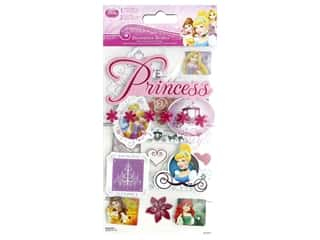 scrapbooking & paper crafts: SandyLion Sticker Princess Decoration Medley