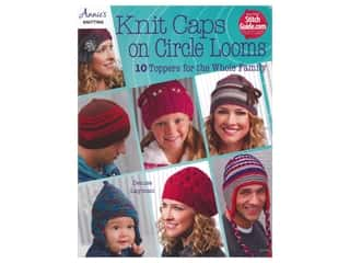 Annie's Knit Caps On Circle Looms Book
