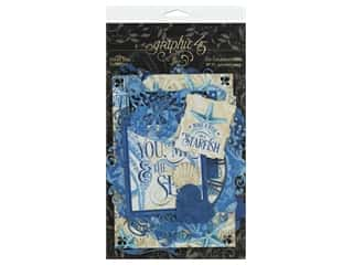 Graphic 45 Collection Ocean Blue Die Cut Assorted
