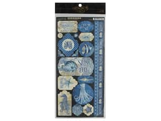 scrapbooking & paper crafts: Graphic 45 Collection Ocean Blue Sticker