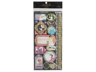 scrapbooking & paper crafts: Graphic 45 Collection Fashion Forward Sticker