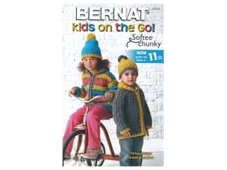 Bernat Kids On The Go Knit & Crochet Book