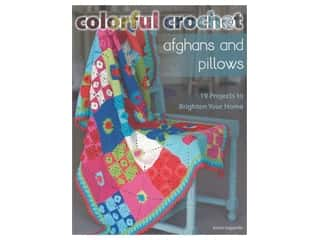 books & patterns: Stackpole Colorful Crochet Afghans & Pillows Book