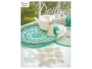 yarn: Annie's Crochet One Day Dolies Book