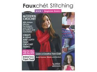 Fauxchet Stitching Book 1: Beginner Basics Crochet