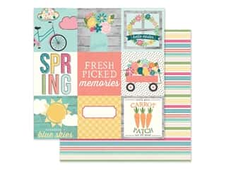 Simple Stories Collection Hip Hop Hooray Paper 12 in. x 12 in. Elements 4 in. x 4 in. (25 pieces)