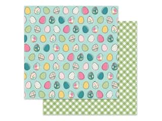 scrapbooking & paper crafts: Simple Stories Collection Hip Hop Hooray Paper 12 in. x 12 in. Egg-stra Special (25 pieces)