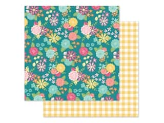 Simple Stories Collection Hip Hop Hooray Paper 12 in. x 12 in. Spring Fling (25 pieces)