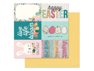 Simple Stories Collection Hip Hop Hooray Paper 12 in. x 12 in. Elements 4 in.  x 6 in. (25 pieces)
