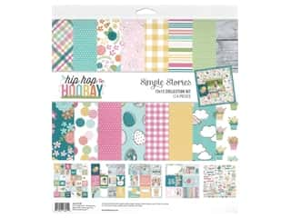decorative bird: Simple Stories Collection Hip Hop Hooray Collection Kit 12 in. x 12 in.