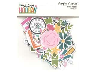 decorative bird: Simple Stories Collection Hip Hop Hooray Bits & Pieces
