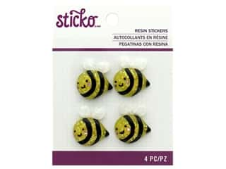 EK Sticko Stickers Resin Bee