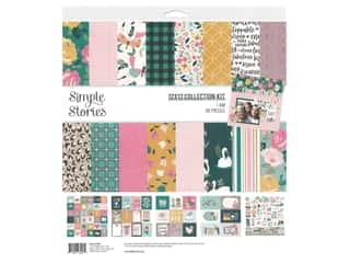 scrapbooking & paper crafts: Simple Stories Collection I Am Collection Kit 12 in. x 12 in.