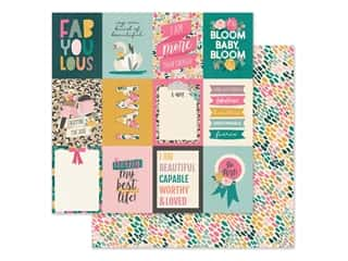 scrapbooking & paper crafts: Simple Stories Collection I Am Paper 12 in. x 12 in. Elements 3 in. x 4 in. (25 pieces)