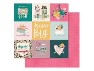 scrapbooking & paper crafts: Simple Stories Collection I Am Paper 12 in. x 12 in. Elements 4 in. x 4 in. (25 pieces)