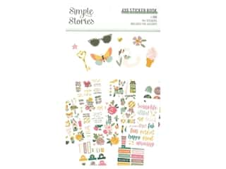 Simple Stories Collection I Am Sticker Book 4 in. x 6 in.