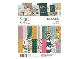 Simple Stories Collection I Am Paper Pad 6 in. x 8 in.
