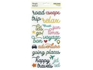 Simple Stories Collection Going Places Sticker Foam