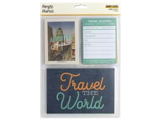 Simple Stories Going Places Snap Cards 3 in. x 4 in. & 4 in. x 6 in.