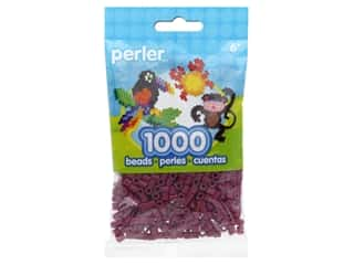beading & jewelry making supplies: Perler Beads 1000 pc. Eggplant