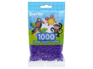 beading & jewelry making supplies: Perler Beads 1000 pc. Grape