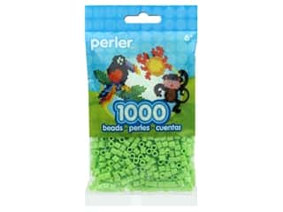 beading & jewelry making supplies: Perler Beads 1000 pc. Sour Apple