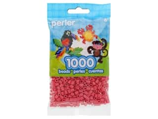 beading & jewelry making supplies: Perler Beads 1000 pc. Rose