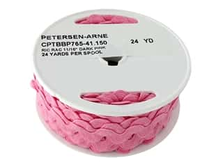 Cheep Trims Ric Rac 11/16 in. Dark Pink (24 yards)