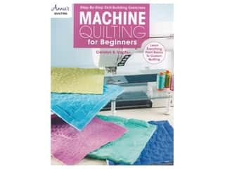 books & patterns: Machine Quilting for Beginners Book