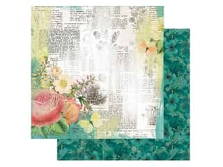 scrapbooking & paper crafts: Simple Stories Collection Simple Vintage Garden District Paper12 in. x 12 in. Live For Today (25 pieces)