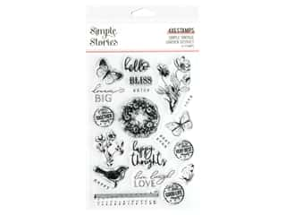 Simple Stories Collection Simple Vintage Garden District Stamps