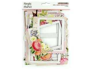 Simple Stories Collection Simple Vintage Garden District Layered Frames