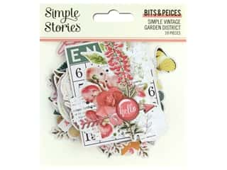 Simple Stories Collection Simple Vintage Garden District Bits & Pieces