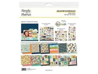 Simple Stories Collection Simple Vintage Garden District Collector's Essentials Kit