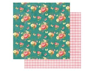 Simple Stories Collection Simple Vintage Garden District Paper 12 in. x 12 in. Celebrate Today (25 pieces)