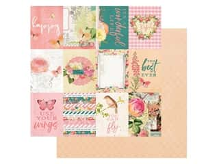 Simple Stories Collection Simple Vintage Garden District Paper 12 in. x 12 in. Elements 3 in. x 4 in. (25 pieces)