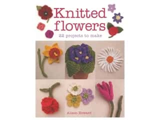 yarn: Guild of Master Craftsman Publications Knitted Flowers 22 Projects To Make Book