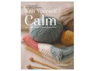 yarn: Search Press Knit Yourself Calm Book
