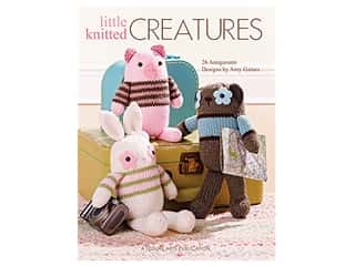 Leisure Arts Little Knitted Creatures Book