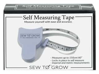 Sewing & Quilting  measuring: Sew To Grow Self Measuring Tape Measure