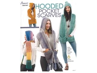 Annie's Hooded Pocket Scarves Book