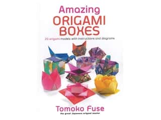 scrapbooking & paper crafts: Dover Amazing Origami Boxes Book