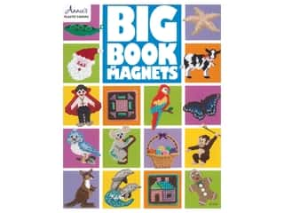 yarn & needlework: Annie's Big Book Of Magnets Plastic Canvas