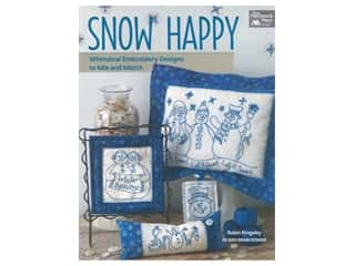 That Patchwork Place Snow Happy Embroidery Book