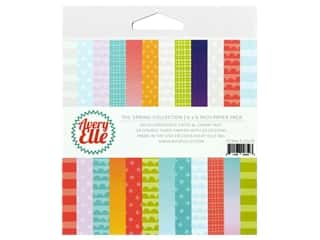 Scrapbook Paper: Avery Elle Paper Pack 6 in. x 6 in. The Spring Collection