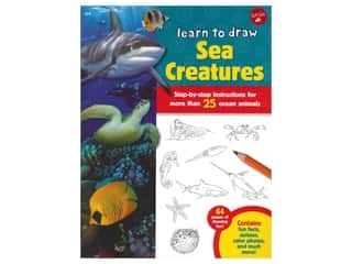 books & patterns: Walter Foster Jr Learn To Draw Sea Creatures Book