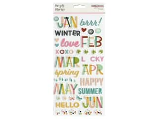 Simple Stories Collection Best Year Ever Sticker Foam