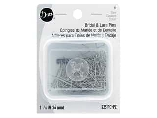 Dritz Bridal and Lace Pins Size 17 225 pc.
